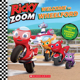 Scholastic - Ricky Zoom - Welcome to Wheelford - Édition anglaise