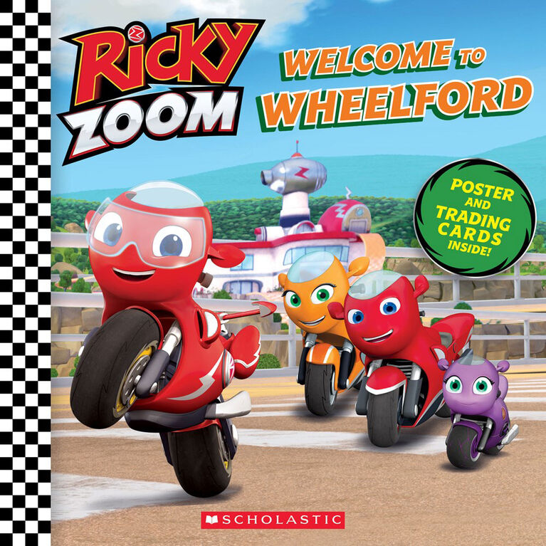 Scholastic - Ricky Zoom - Welcome to Wheelford - English Edition