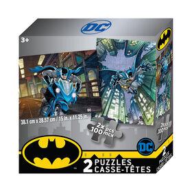 Batman Puzzle 2 X 100 Piece Puzzle