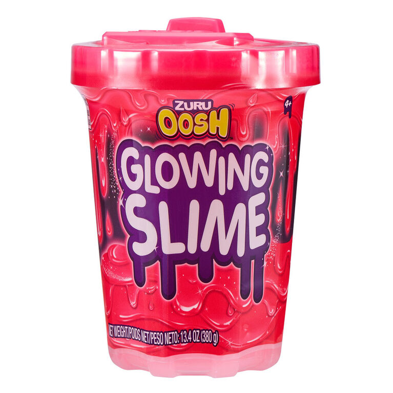 Oosh Non-Stick Glowing Slime Series 3 (Large)
