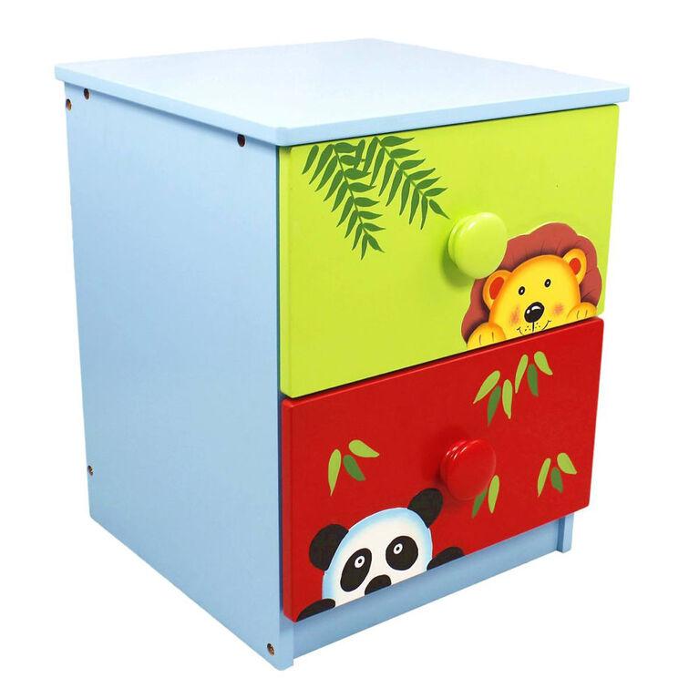Fantasy Fields - Meuble de rangement à 2 tiroirs Sunny Safari
