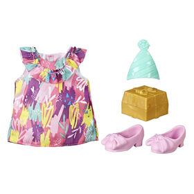 Littles by Baby Alive Little Styles Birthday Party Outfit