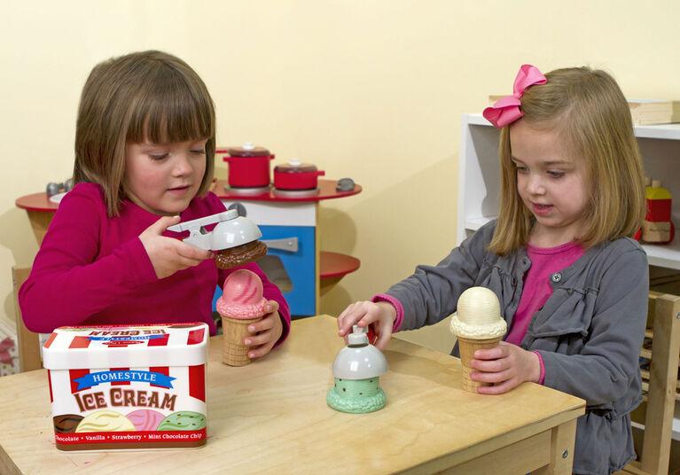 Melissa & Doug Scoop & Stack Ice Cream Cone Playset
