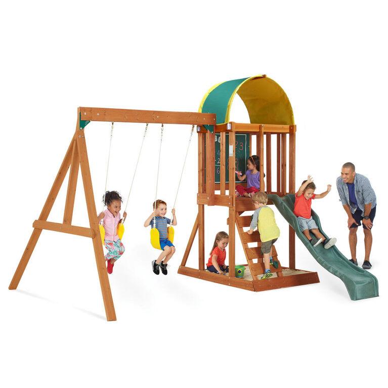 KidKraft Andorra Wooden Swing Set - R Exclusive