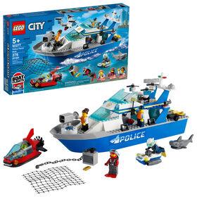 LEGO City Police Police Patrol Boat 60277