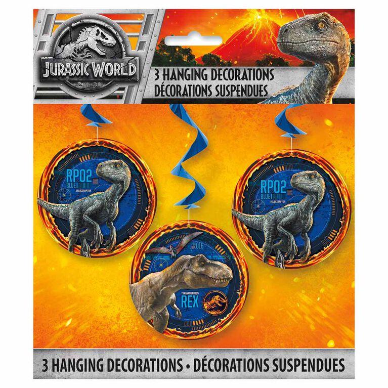 "Jurassic World Hanging Decor26"" 3 pieces"