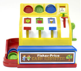 Fisher Price Cash Register