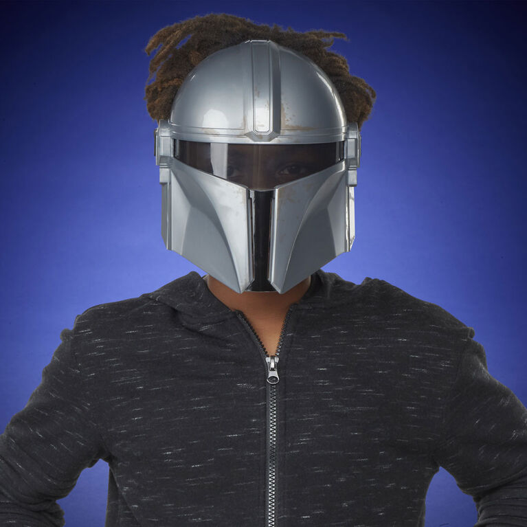 Star Wars The Mandalorian Mask for Kids Roleplay and Dress Up, Star Wars Galaxy's Edge - R Exclusive