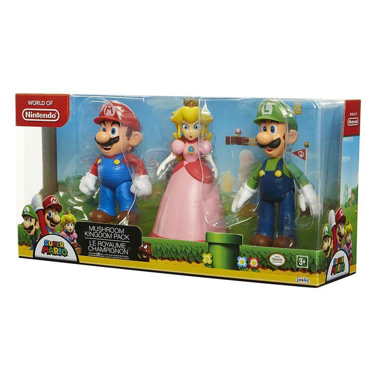 Nintendo Mushroom Kingdom 4in 3pk