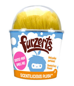 Furzerts Medium Scented Plush - Benny Banana Cream Pie