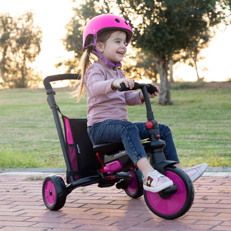 smarTrike STR3 - tricycle pliant bébé - Rose