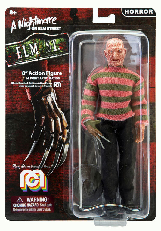 "Nightmare on Elm Street - Freddy Krueger 8"" figure"