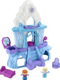Fisher-Price - Disney - La Reine des Neiges - Palais Lumières enchantées d'Elsa par Little People
