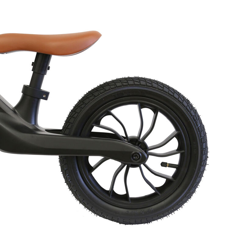 QPlay - Balance Bike Racer - Black/Brown