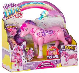 Little Live Pets - SPARKLES Ma Licorne dansante.
