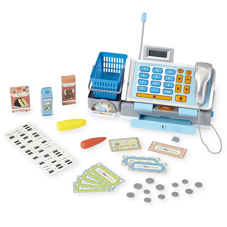 Just Like Home Talking Cash Register - English Edition