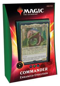 "Magic the Gathering ""Ikoria - Lair of the Behemoths"" Commander Deck - Enhanced Evolution"
