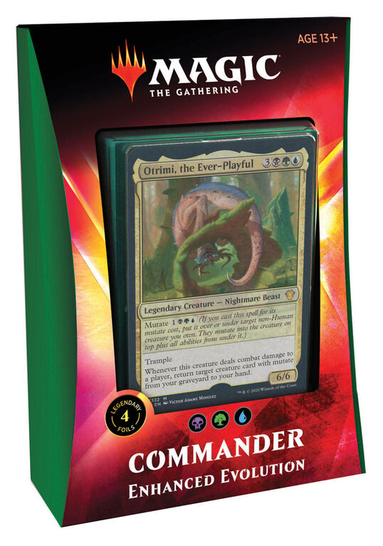 "Magic the Gathering ""Ikoria - Lair of the Behemoths"" Commander Deck - Enhanced Evolution"