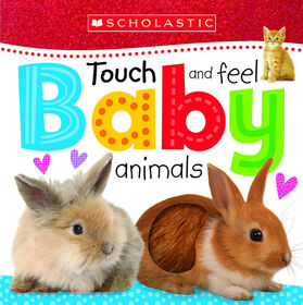 Touch And Feel: Baby Animals - Édition anglaise