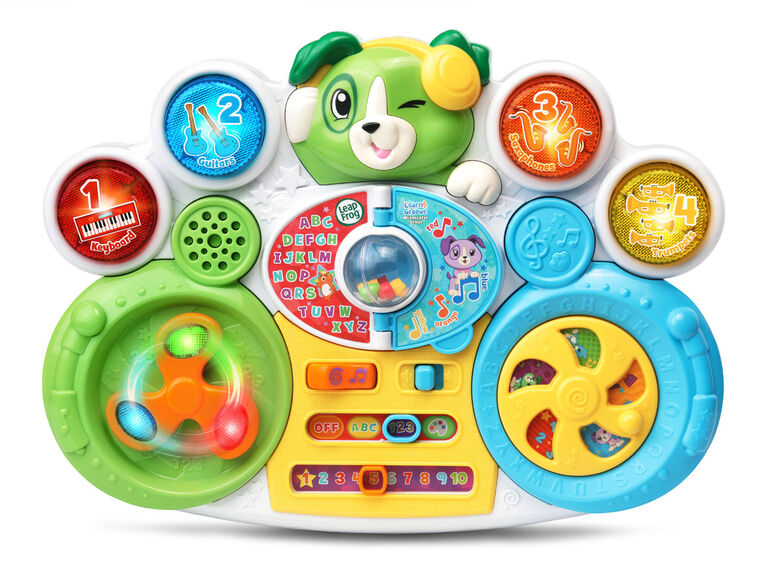 LeapFrog Learn & Groove Mixmaster Scout - English Edition
