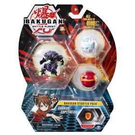 Bakugan Starter Pack 3-Pack, Darkus Lupitheon