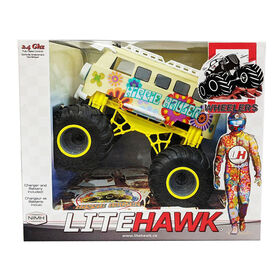 LiteHawk Hippie Hauler Big Wheelers