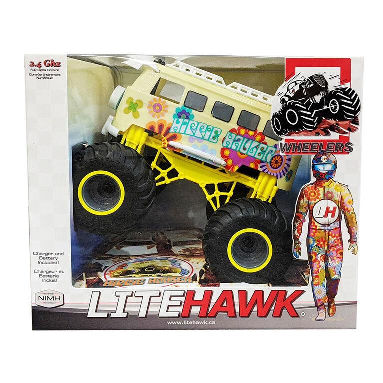 LiteHawk Hippie Hauler Big Wheelers