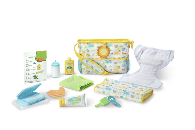 Melissa & Doug Mine to Love Travel Time Play Set for Dolls