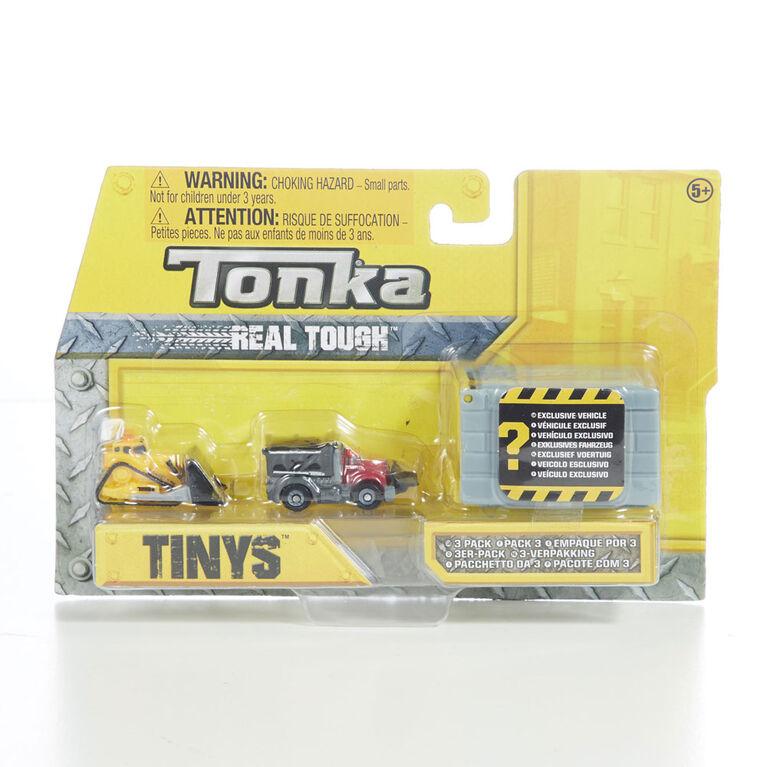Tonka Tinys 3 Pack.