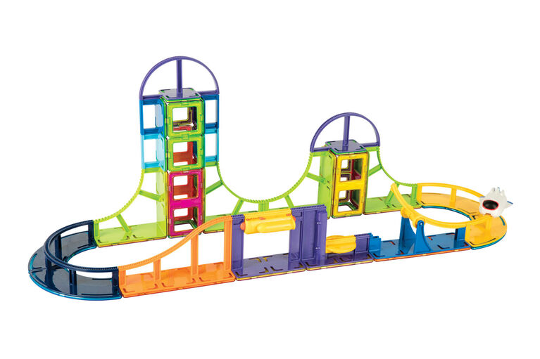 Magformers Sky Track 64 Piece Adventure Set