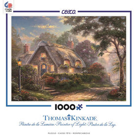 Thomas Kinkade Casse-Tête 1000 Morceaux - Chalet Lovelight.