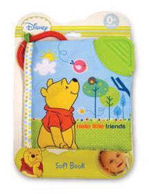 Disney Winnie the Pooh Hello Little Friends Soft Book