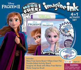 Trousse d,aventures 4-en-1 Imagine Ink - Frozen II - Édition anglaise