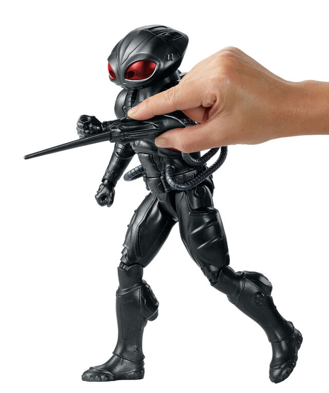 Aquaman True-moves 12 inch Figure - Light & Sound Black Manta