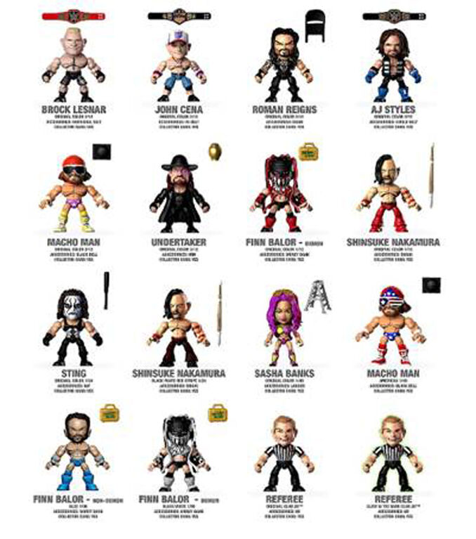 Loyal Subjects - WWE Collection - Styles may vary