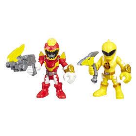 Playskool Heroes Power Rangers 2-Pack, Red Ranger and Yellow Ranger