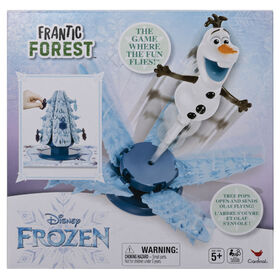 Olaf Frozen Frantic Forest Game for Kids and Families - R Exclusive