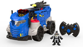 Imaginext - DC Super Friends - Centre de commandement mobile télécommandé - Édition anglaise