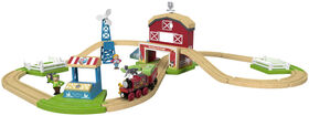 Fisher-Price Thomas & Friends Wood Family Farm Set - English Edition