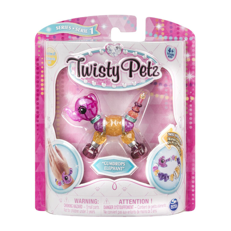 Twisty Petz - Gumdrops Elephant Bracelet