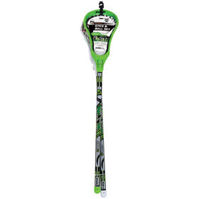 Franklin Sports Lacrosse 2 Stick and Ball Set - Green