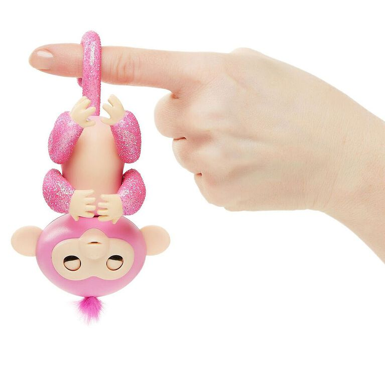 Fingerlings Glitter Monkey - Rose