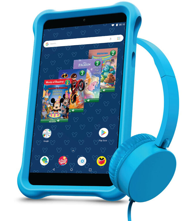"Disney airBook 7"" Kids Tablet Bundle Powered by Android - Blue"