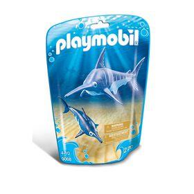 Playmobil - Swordfish with Baby