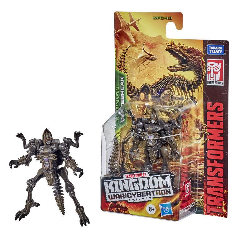 Transformers WFC-K3 Vertebreak Action Figure