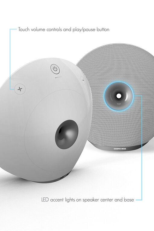 Haut-parleur Bluetooth sans fil SBT612 de Sharper Image