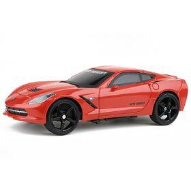 New Bright - 1:24 Scale Radio Control Sports Car - Corvette Stingray (Red)