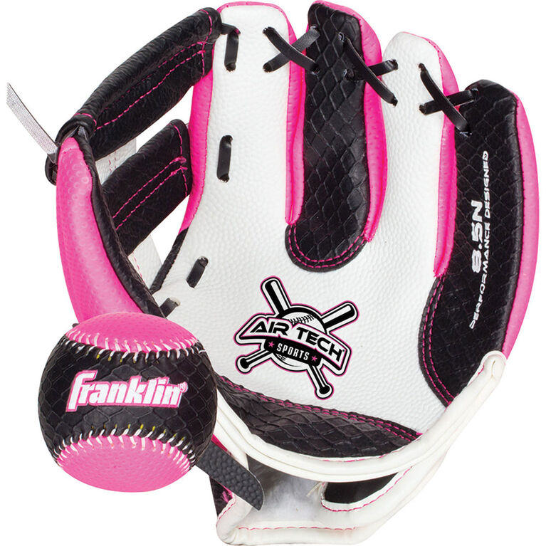 "85"" Sport Air Tech Glove & Ball Set - Pink"