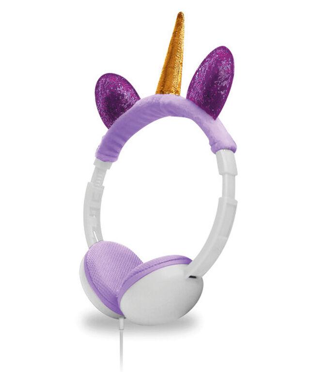 Art+Sound Plush Unicorn Wired Headphone