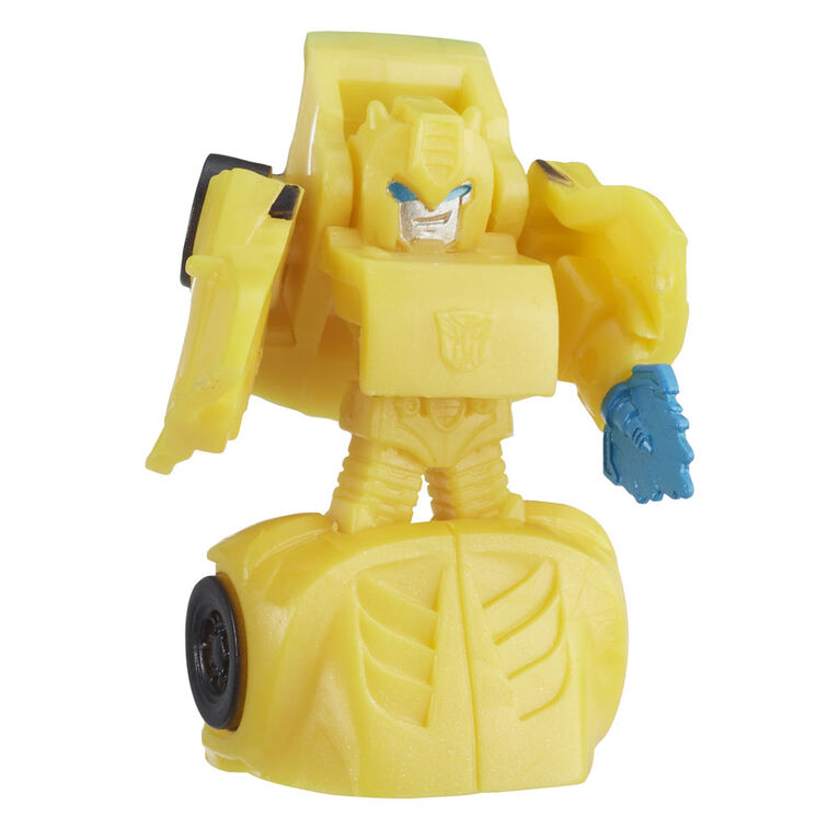 Jouets Transformers Cyberverse Tiny Turbo Changers, série 2, figurines articulées en sac surprise